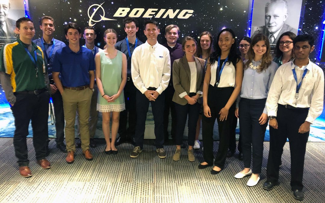 DiSTI Leader Mentors at Boeing