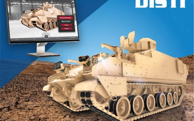 U.S. Army Awards DiSTI $3.56M Delivery Order for AMPV Trainers