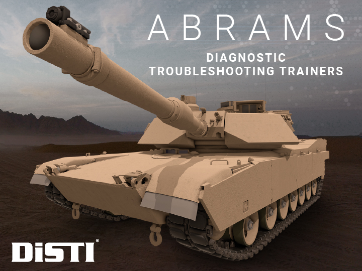 U.S. Army Awards DiSTI $4.7M Delivery Order for Abrams Trainers