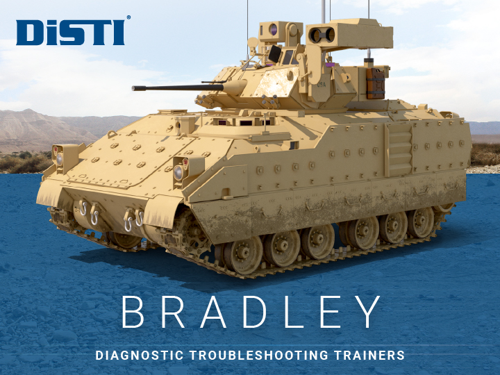 U.S. Army Awards DiSTI $5.5M Delivery Order for Bradley Trainers